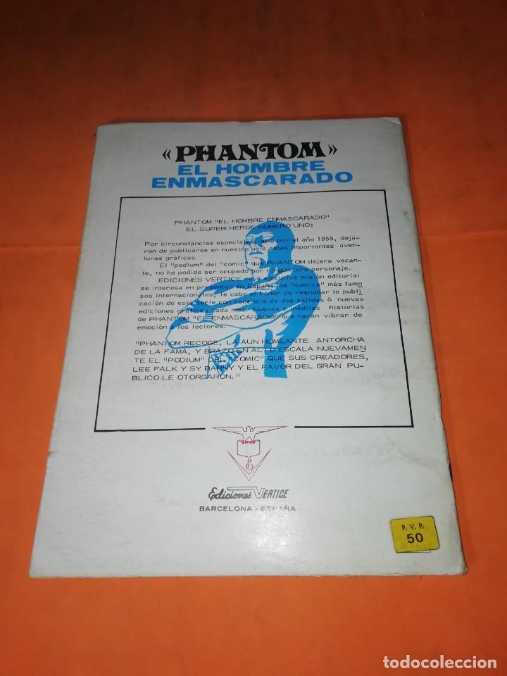 Cómics: EL HOMBRE ENMASCARADO. Nº 2. EL PASAJERO MISTERIOSO. VERTICE 1974 - Foto 2 - 219422418