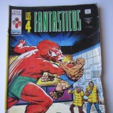 Cómics: 4 FANTASTICOS, LOS (1977, VERTICE) -V.3- 19 · IV-1979 · DESASTRE EN EL CAMPUS. Lote 219425136