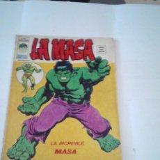 Cómics: LA MASA - VOLUMEN 3 - NUMERO 1 - VERTICE - BUEN ESTADO - CJ 107 - GORBAUD. Lote 219433827