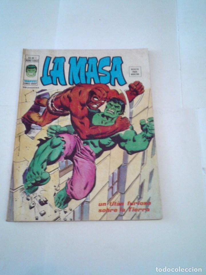 LA MASA - VOLUMEN 3 - NUMERO 3 - VERTICE - CJ 107 - GORBAUD (Tebeos y Comics - Vértice - La Masa)