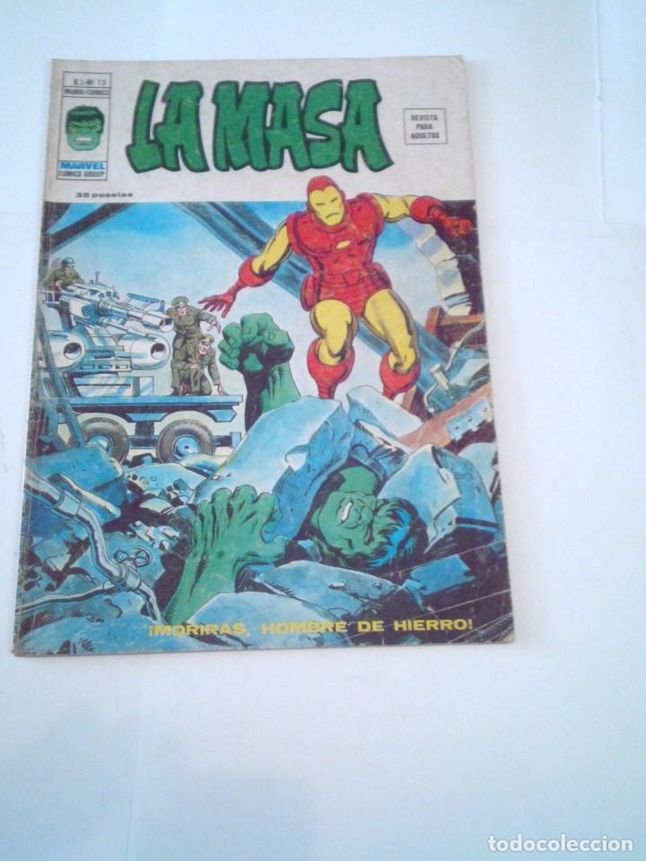 LA MASA - VOLUMEN 3 - NUMERO 15 - VERTICE - CJ 107 - GORBAUD (Tebeos y Comics - Vértice - La Masa)