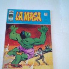 Cómics: LA MASA - VOLUMEN 3 - NUMERO 22 - VERTICE - CJ 107 - GORBAUD. Lote 219434646