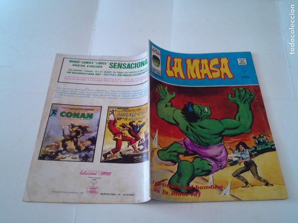 Cómics: LA MASA - VOLUMEN 3 - NUMERO 22 - VERTICE - CJ 107 - GORBAUD - Foto 5 - 219434646