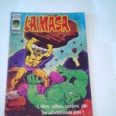 Cómics: LA MASA - VOLUMEN 3 - NUMERO 28 - VERTICE - CJ 107 - GORBAUD. Lote 219437770
