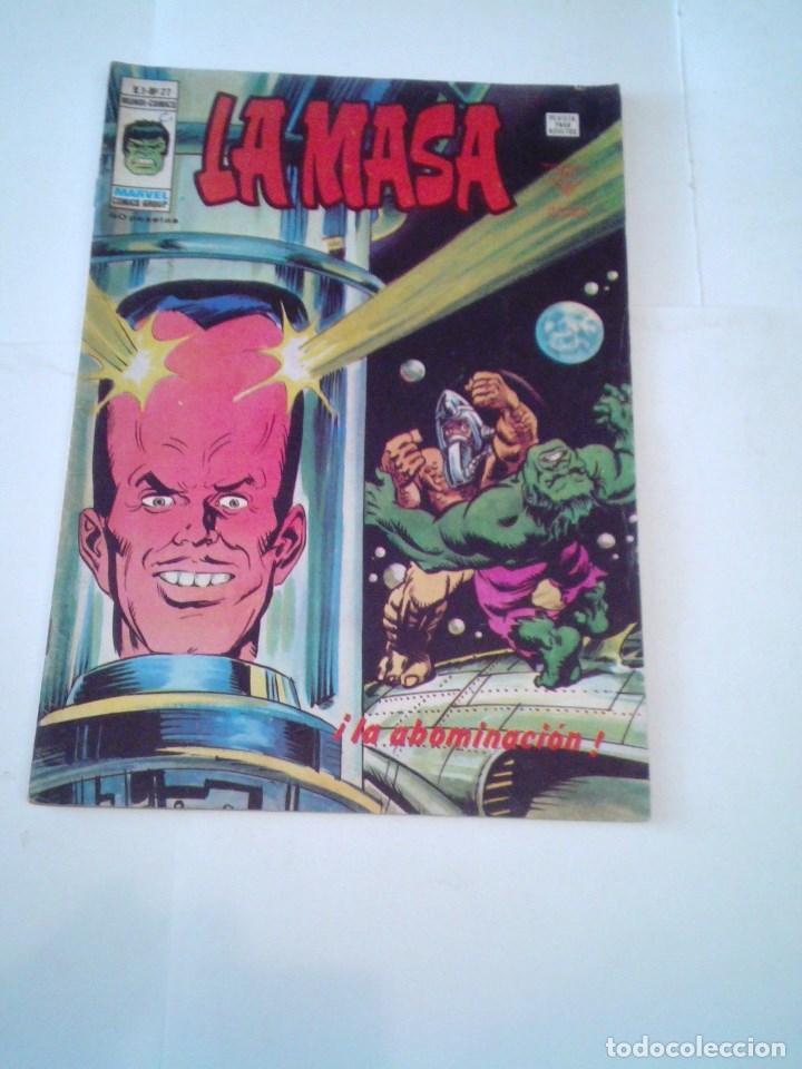 LA MASA - VOLUMEN 3 - NUMERO 27 - VERTICE - CJ 107 - GORBAUD (Tebeos y Comics - Vértice - La Masa)