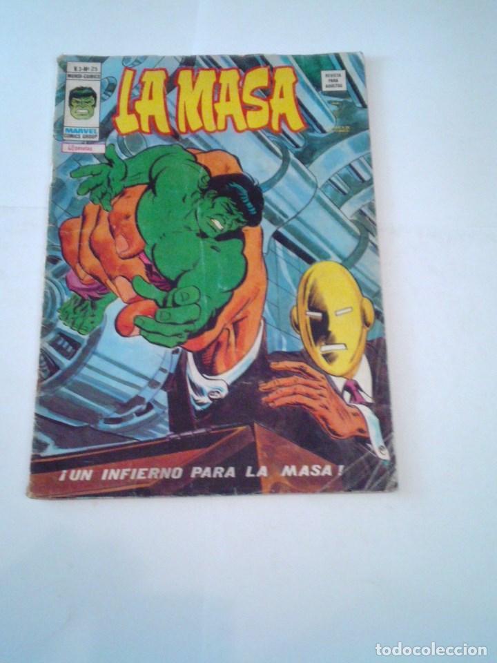 LA MASA - VOLUMEN 3 - NUMERO 25 - VERTICE - CJ 107 - GORBAUD (Tebeos y Comics - Vértice - La Masa)