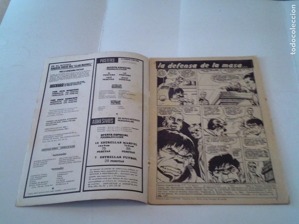 Cómics: LA MASA - VOLUMEN 3 - NUMERO 25 - VERTICE - CJ 107 - GORBAUD - Foto 2 - 219437990