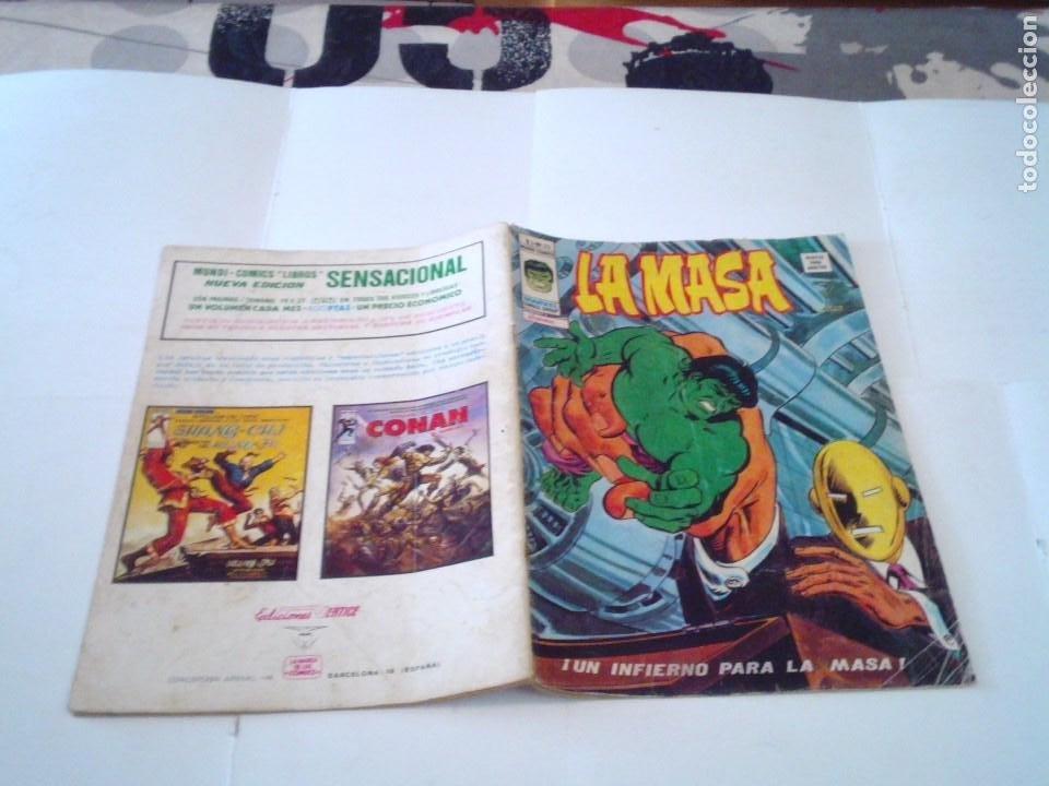 Cómics: LA MASA - VOLUMEN 3 - NUMERO 25 - VERTICE - CJ 107 - GORBAUD - Foto 5 - 219437990