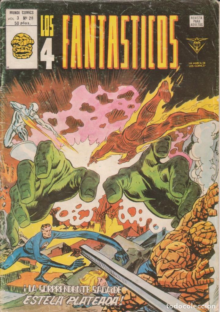 CÓMIC LOS 4 FANTÁSTICOS Nº 28 VOL.3 ED. VÉRTICE / MARVEL (Tebeos y Comics - Vértice - 4 Fantásticos)