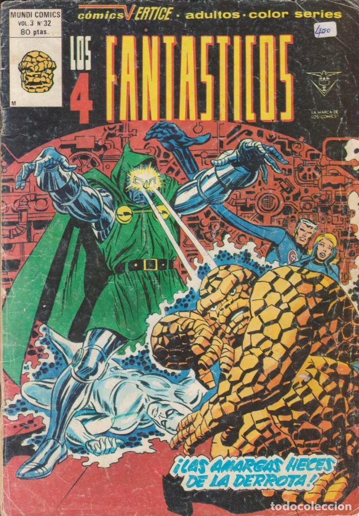 CÓMIC LOS 4 FANTÁSTICOS Nº 32 VOL.3 ED. VÉRTICE / MARVEL COLOR (Tebeos y Comics - Vértice - 4 Fantásticos)