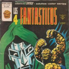 Cómics: CÓMIC LOS 4 FANTÁSTICOS Nº 33 VOL.3 ED. VÉRTICE / MARVEL COLOR. Lote 219593070