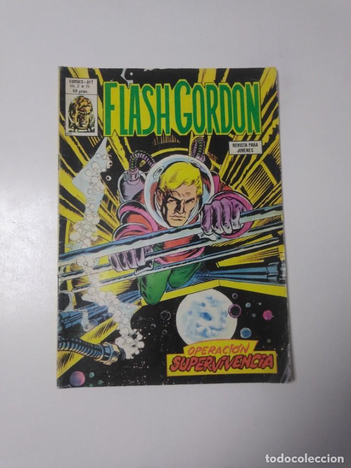 FLASH GORDON NÚMERO 14 VOL. 2 CÓMICS-ART EDICIONES VÉRTICE 1980 (Tebeos y Comics - Vértice - Flash Gordon)