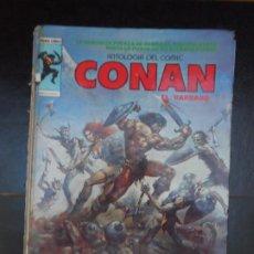 Comics : CONAN EL BARBARO Nº 1 ANTOLOGÍA DEL COMIC VÉRTICE TAPA DURA. Lote 219720183
