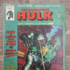 Cómics: LA MASA / HULK - ESPECIAL - Nº 12 - ESPECIAL MUNDI COMICS - VERTICE. Lote 219833828