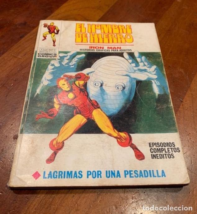 EL HOMBRE DE HIERRO Nº 22 LAGRIMAS POR UNA PESADILLA, VERTICE, VOL.1, BUEN ESTADO - FLA (Tebeos y Comics - Vértice - Hombre de Hierro)