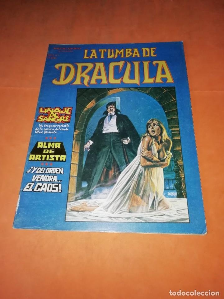 LA TUMBA DE DRACULA.VOLUMEN 1. Nº 3. VERTICE. (Tebeos y Comics - Vértice - Terror)