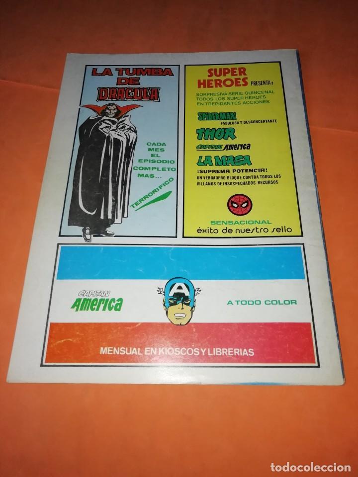 Cómics: LA TUMBA DE DRACULA.VOLUMEN 1. Nº 3. VERTICE. - Foto 2 - 219885218