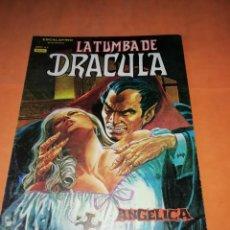 Cómics: LA TUMBA DE DRACULA VOLUMEN 1. Nº 4 . VERTICE.. Lote 219886093
