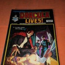Cómics: ESCALOFRIO Nº 32. DRACULA LIVES Nº 8. VERTICE.. Lote 219890428