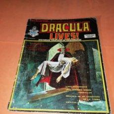 Cómics: ESCALOFRIO Nº 24. DRACULA LIVES Nº 6. VERTICE.. Lote 219891152