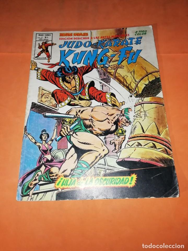 JUDO-KARATE-KUNG-FU. HIJA DE LA OSCURIDAD. VOLUMEN 2 -Nº 4. VERTICE. (Tebeos y Comics - Vértice - Relatos Salvajes)