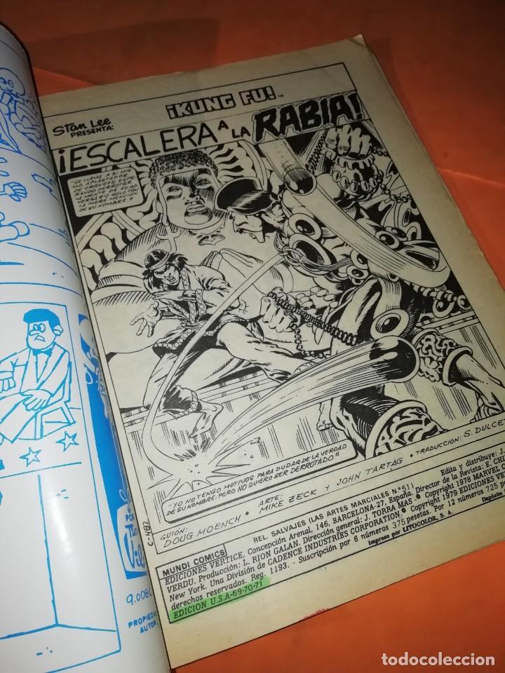 Cómics: RELATOS SALVAJES Nº 51. VOLUMEN 1. ESCALERA A LA RABIA. VERTICE. - Foto 5 - 219894395