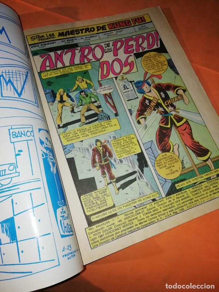 Cómics: JUDO-KARATE-KUNG-FU. ANTRO DE LOS PERDIDOS. VOLUMEN 2 -Nº 1. VERTICE. - Foto 2 - 219896430