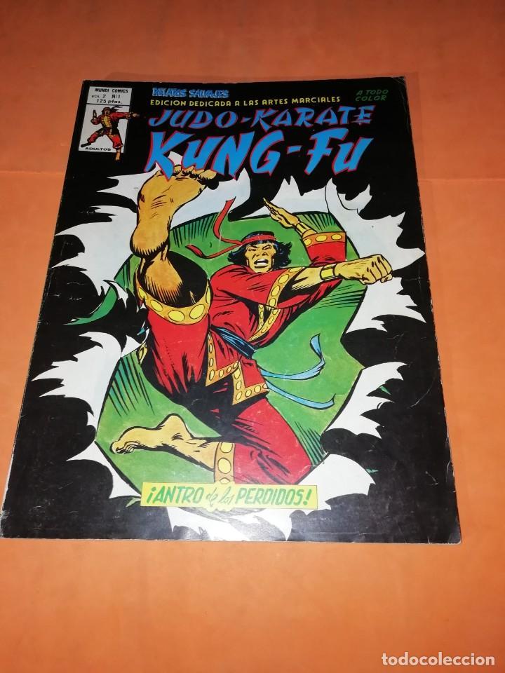 JUDO-KARATE-KUNG-FU. ANTRO DE LOS PERDIDOS. VOLUMEN 2 -Nº 1. VERTICE. (Tebeos y Comics - Vértice - Relatos Salvajes)