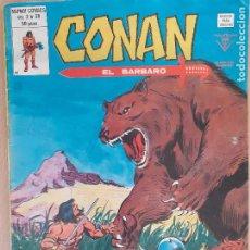 Comics : CONAN VOL. 2 Nº 38 . MUNDI COMICS. EDITA VÉRTICE 1980. Lote 219896660