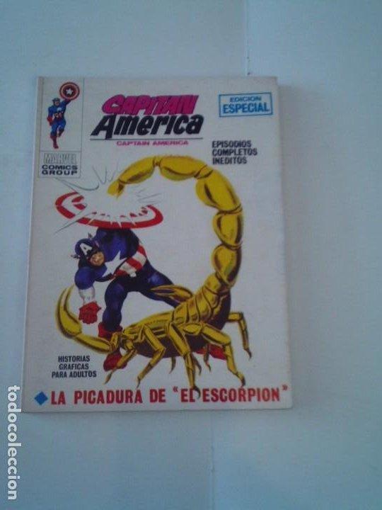 CAPITAN AMERICA- VOLUMEN 1 - NUMERO 9 - 1ª EDICION - VERTICE - MUY BUEN ESTADO - IMPECABLE - CJ 107 (Tebeos y Comics - Vértice - Patrulla X)