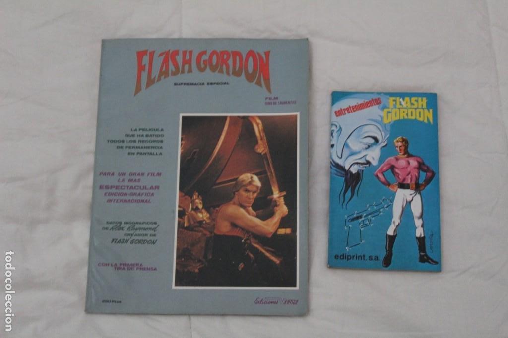 ALBUM FOTOGRAMAS FLASH GORDON. SUPREMACIA ESPACIAL. (1980). (Tebeos y Comics - Vértice - Flash Gordon)