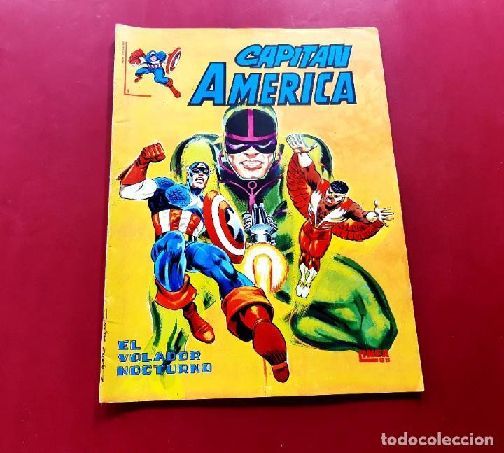 CAPITAN AMERICA Nº 1 (Tebeos y Comics - Vértice - Surco / Mundi-Comic)