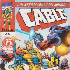 Cómics: CÓMIC MARVEL CABLE Nº 26 ED, PLANETA / FORUM. Lote 220398266