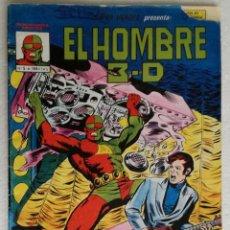 Cómics: COMIC EL HOMBRE 3-D - MUNDI COMICS, Nº 5S (DEL Nº 1 AL Nº 56). Lote 220575407