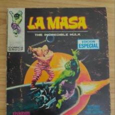 Cómics: LA MASA: EL ACECHANTE NOCTURNO (VÉRTICE TACO Nº 11) MARVEL - HULK. Lote 220625616