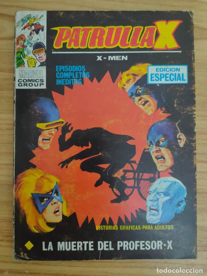 PATRULLA X: LA MUERTE DEL PROFESOR X (VÉRTICE TACO Nº 19) MARVEL - X MEN (Tebeos y Comics - Vértice - Patrulla X)