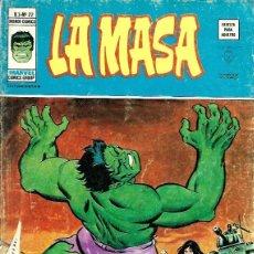Cómics: LA MASA, VERTICE VOL. 3 Nº 22. Lote 220649330