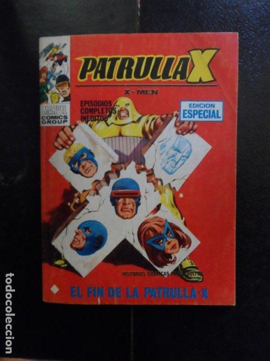 PATRULLA X Nº 20 VOLUMEN 1 EDICIONES VERTICE EL FIN DE LA PATRULLA X (Tebeos y Comics - Vértice - Patrulla X)