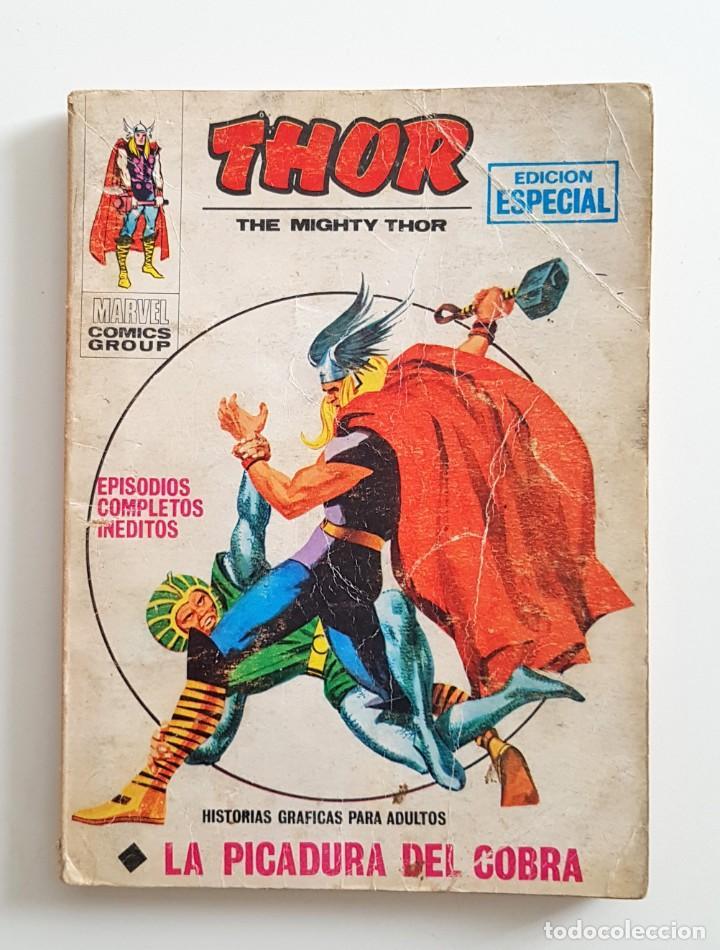 VERTICE VOL.1 THOR Nº 14 - LA PICADURA DE LA COBRA - EDICION ESPECIAL 128 PAGINAS - TACO MARVEL (Tebeos y Comics - Vértice - Thor)
