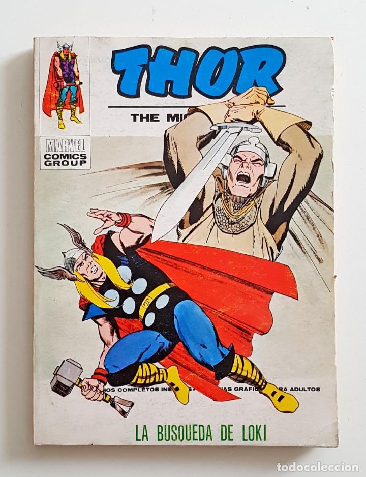 VERTICE VOL.1 THOR Nº 35 - LA BUSQUEDA DE LOKI - EDICION ESPECIAL 128 PAGINAS - TACO MARVEL (Tebeos y Comics - Vértice - Thor)