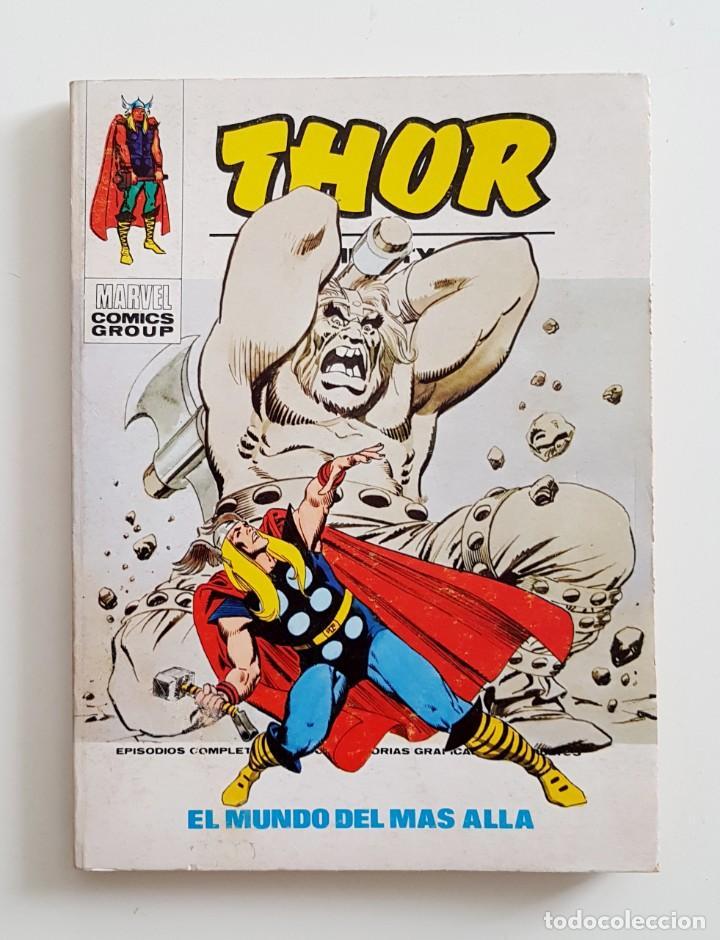 VERTICE VOL.1 THOR Nº 37 - EL MUNDO DE MAS ALLA- EDICION ESPECIAL 128 PAGINAS - TACO MARVEL (Tebeos y Comics - Vértice - Thor)