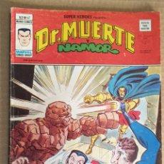 Cómics: COMIC DE DR. MUERTE Y NAMOR LOS 4 FANTÁSTICOS DE VERTICE. Lote 221163337