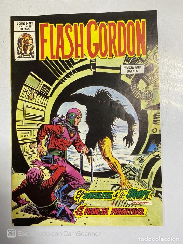 TEBEO. FLASH GORDON. SATELITE ACADEMIA DE LOS SKORPI. 2ª PARTE. PLANETA PRIMITIVO.VOL. 2 - Nº 11 (Tebeos y Comics - Vértice - Flash Gordon)