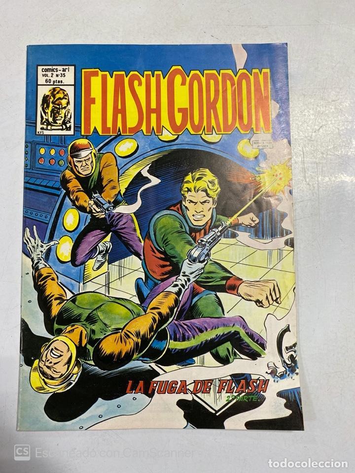 TEBEO. FLASH GORDON. LA FUGA DE FLASH. 2ª PARTE. VOL 2 - Nº 35 (Tebeos y Comics - Vértice - Flash Gordon)