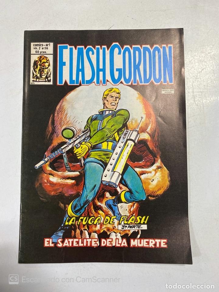 TEBEO. FLASH GORDON. LA FUGA DE FLASH. 3ª PARTE. EL SATELITE DE LA MUERTE. VOL 2 - Nº 36 (Tebeos y Comics - Vértice - Flash Gordon)