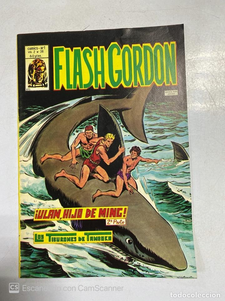 TEBEO.FLASH GORDON. ¡ULAN, HIJO DE MING! 2ª LOS TIBURONES DE TAMBOKA.VOL 2 - Nº 38 (Tebeos y Comics - Vértice - Flash Gordon)