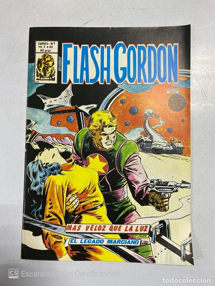 TEBEO.FLASH GORDON. MAS VELOZ QUE LA LUZ. 2ª PARTE. EL LEGADO MARCIANO. VOL 2 - Nº 40 (Tebeos y Comics - Vértice - Flash Gordon)