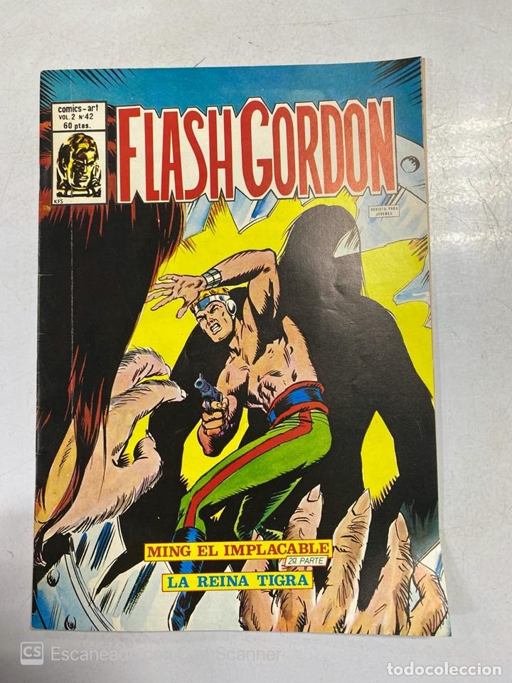 TEBEO.FLASH GORDON. MING EL IMPLACABLE. 2ª PARTE. LA REINA TIGRA. VOL 2 - Nº 42 (Tebeos y Comics - Vértice - Flash Gordon)