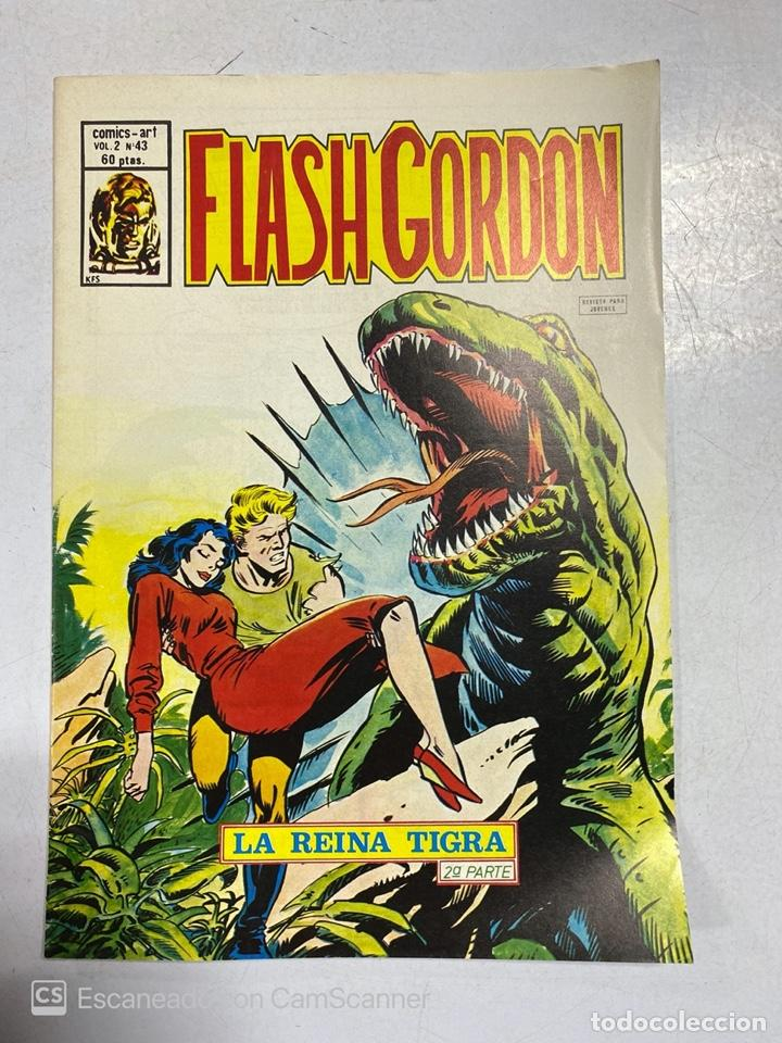 TEBEO.FLASH GORDON. LA REINA TIGRA. 2ª PARTE. VOL 2 - Nº 43 (Tebeos y Comics - Vértice - Flash Gordon)