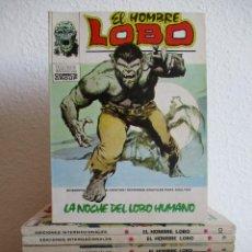 Cómics: EL HOMBRE LOBO, VERTICE TACO, COLECCION COMPLETA ¡¡¡¡ MUY BUEN ESTADO !!!!. Lote 221311383